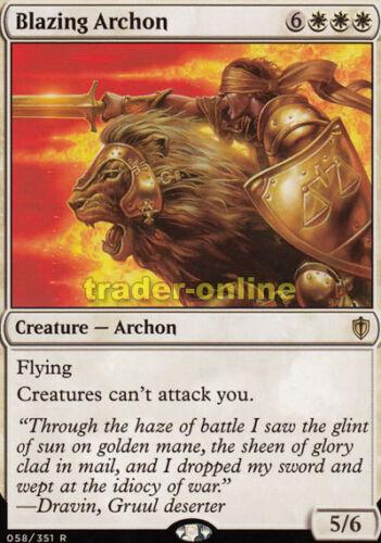Blazing Archon comandante 2016 Magic flammender Archon