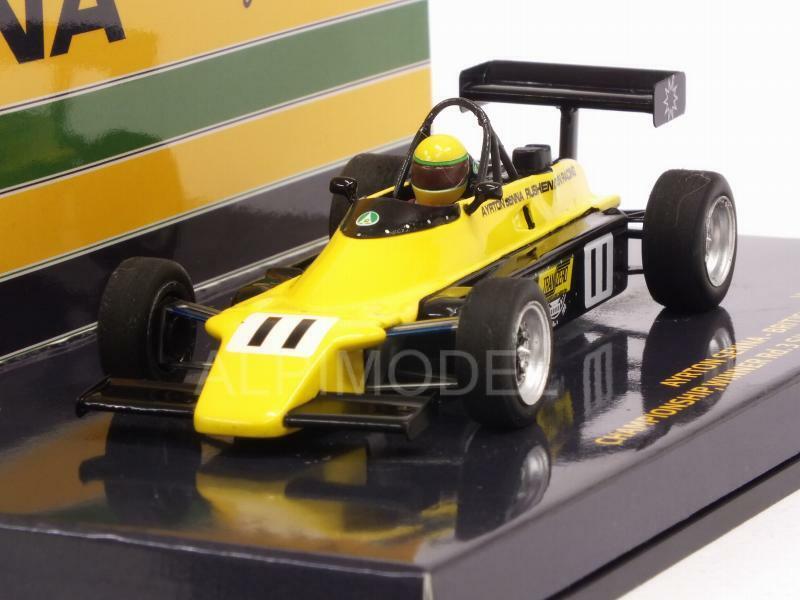 Van Diemen RF82 British FF 2000 1982 Ayrton Senna 1:43 MINICHAMPS 547824311