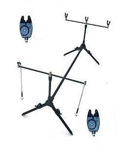 CK Carp Fishing Rod Pod ,2 Alarms Swingers , 3 Rod Rests ...