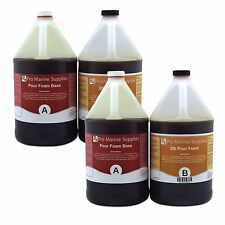 Pour Foam 2 LB Density - Liquid Urethane Insulation Marine Grade - 4 Gallon Kit