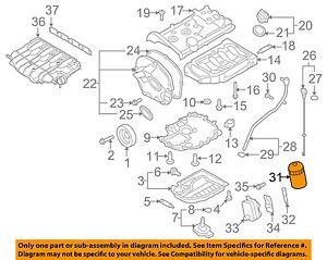 VW VOLKSWAGEN OEM 09-16 CC Engine-Oil Filter 06J115403Q | eBayeBay