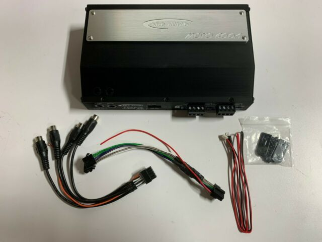 PIONEER GM-D1004 AMP 4-CHANNEL 400W MOTORCYCLE SPEAKERS TWEETERS AMPLIFIER NEW