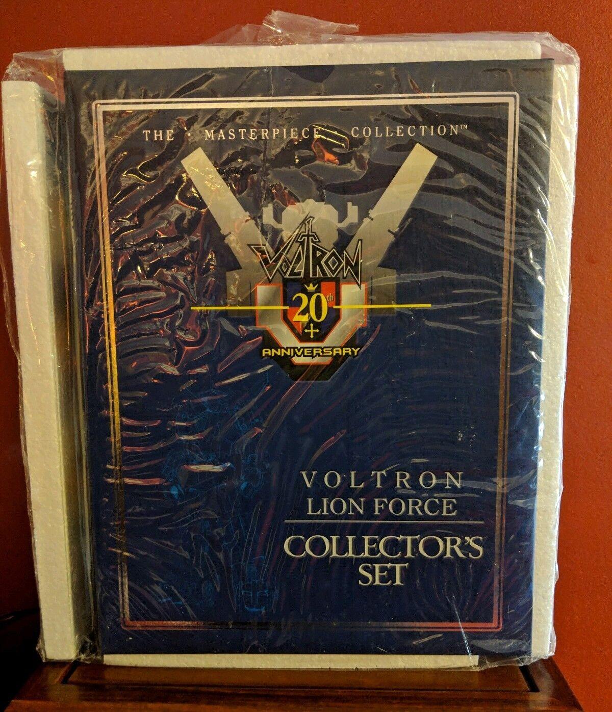 Toynami Masterpiece Voltron 20th Anniversary Lion Force Collector Set Die-Cast