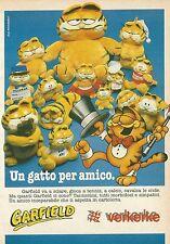 X2333 GARFIELD - Verkerke - Pubblicità 1988 - Advertising
