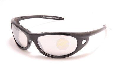 M Shades Mad Max Polycarbonate Sunglasses Bike White//Pink Frame // Smoke Lens
