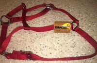 Simco Red Vintage Bridle