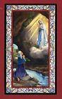 SANTINO VERGINE DI LOURDES IMAGE PIEUSE - HOLY CARD- Heiligenbild