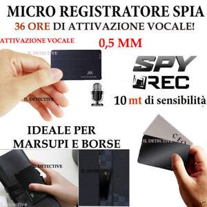 MICRO-REGISTRATORE-AUDIO-VOCALE-16-GB-SPY-SPIA-MINI-AMBIENTALE-USB