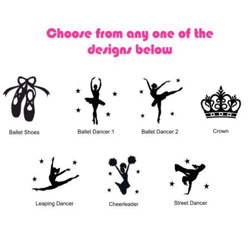 Personalised Dance Holdall Bag Girls Ballet Childrens Glitter Kit Kids School