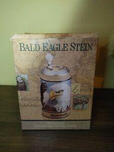 Budweiser-Anheuser-Bush-Endangered-Species-Bald-Eagle-Beer-Stein-1989