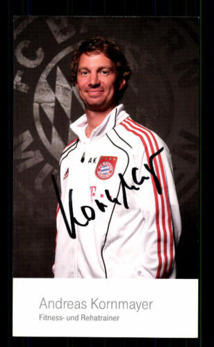Andreas Kornmayer Autogrammkarte Bayern München 2010-11 Original Signiert