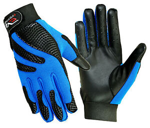 EVO-Insulated-Pure-Leather-Winter-Gloves-Cycling-motorcycle-Wheelchair-Riding