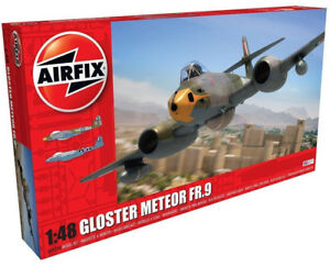 Airfix-Gloster-Meteor-FR-9-1-48-Escala-Modelos-Plastico-Avion-Kit-A09188
