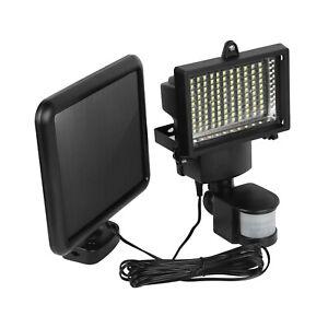 100-LED-Luz-Solar-Sensor-De-Movimiento-Infrarrojo-Pasivo-Seguridad-Luz-Exterior-De-Jardin-Lampara-de