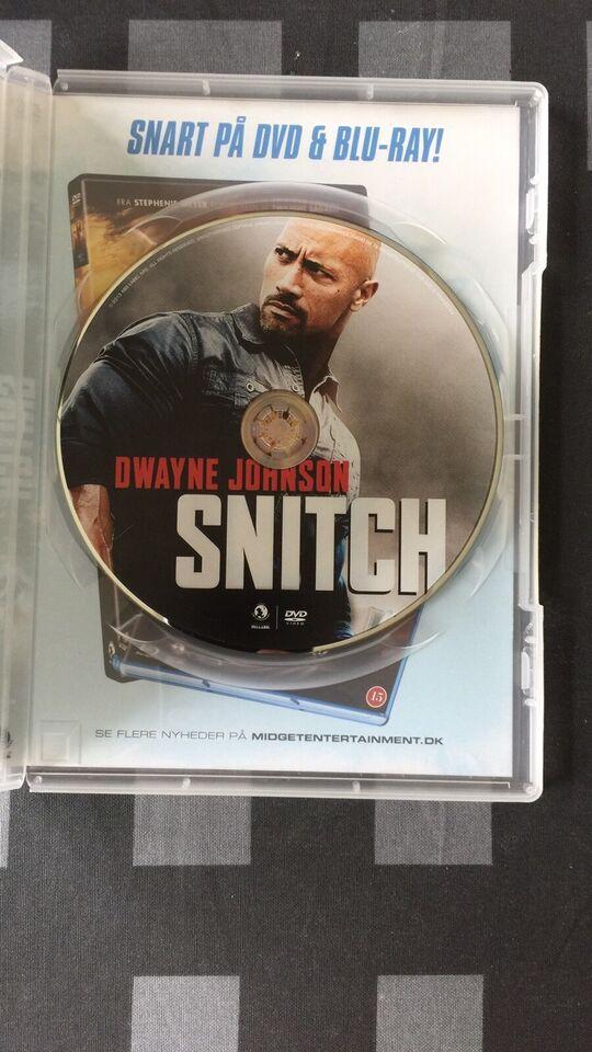 SNITCH, instruktør Ric Roman Waugh, DVD