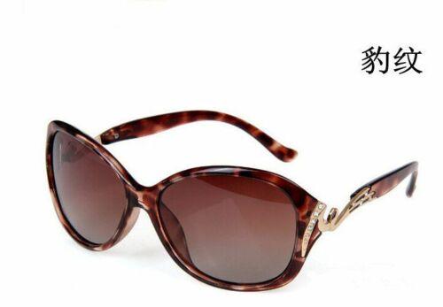 Polarized Sunglasses Women UV 400 Protection Fashion With Rhinestone Sun Glasses