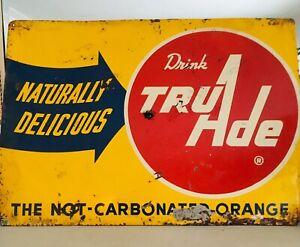 Vintage-1955-Tru-Ade-Tin-Sign