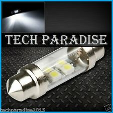1x Ampoule 36mm C5W C7W C10W LED Bulb 3 SMD Blanc White plaque Navette Festoon