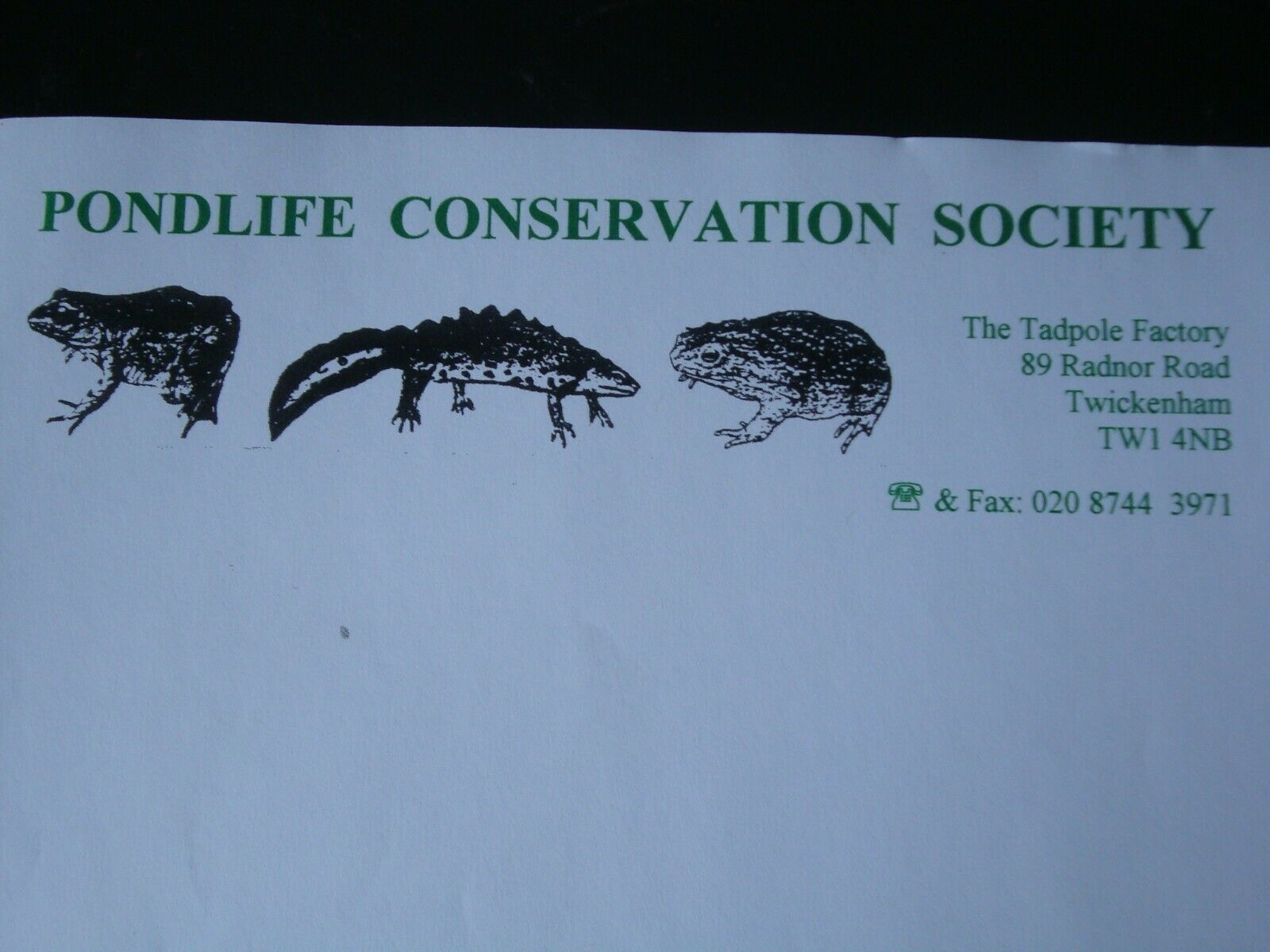 BUSINESS OPPORTUNITY - WILDLIFE SOCIETY + WATERLILY & AQUATIC PLANTS BUSINESS