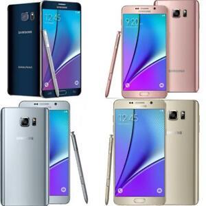 Samsung Galaxy Note 5 - Unlocked - 32GB  - Verizon / AT&T / T-Mobile - Good