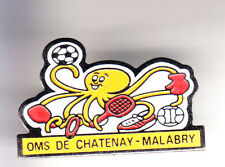 RARE PINS PIN'S .. ANIMAL POISSON PIEUVRE OCTOPUS SPORT CHATENAY MALABRY 92 ~CJ