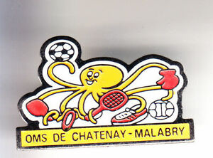 RARE-PINS-PIN-039-S-ANIMAL-POISSON-PIEUVRE-OCTOPUS-SPORT-CHATENAY-MALABRY-92-CJ