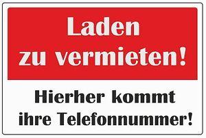 wetterfestes-Schild-034-Laden-zu-vermieten-034-32x45cm