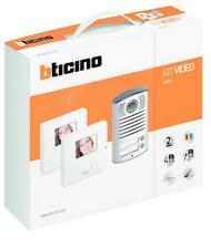 BTICINO 365521 KIT VIVAVOCE BIFAMILIARE CON VIDEOCITOFONI 100V12B LINEA 2000