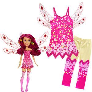 Childrens-Girls-Mia-and-Me-Yuko-Dress-Legging-Wing-Set-Costume-ZG9