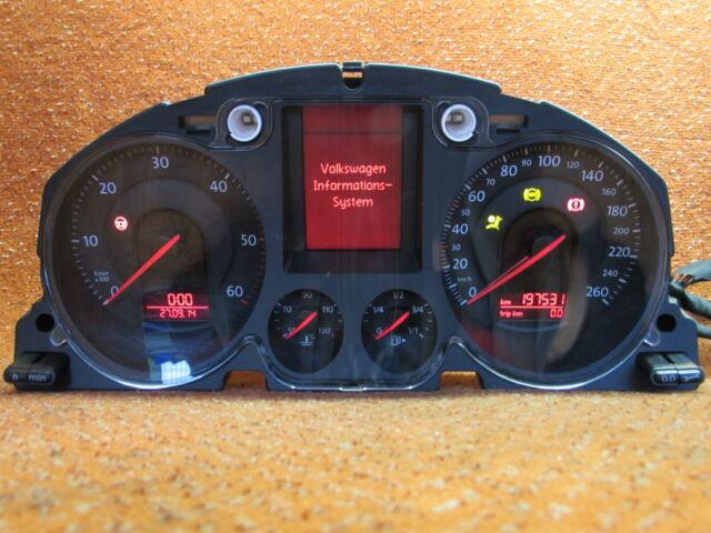 3C0920871 Indicateur Combiné 2,0 Tdi VW Passat 3C Grand Mfa Original