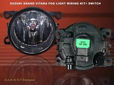 06 07 08 SUZUKI GRAND VITARA FOG LIGHT LAMPS WITH SWITCH & WIRE KITS BRAND NEW