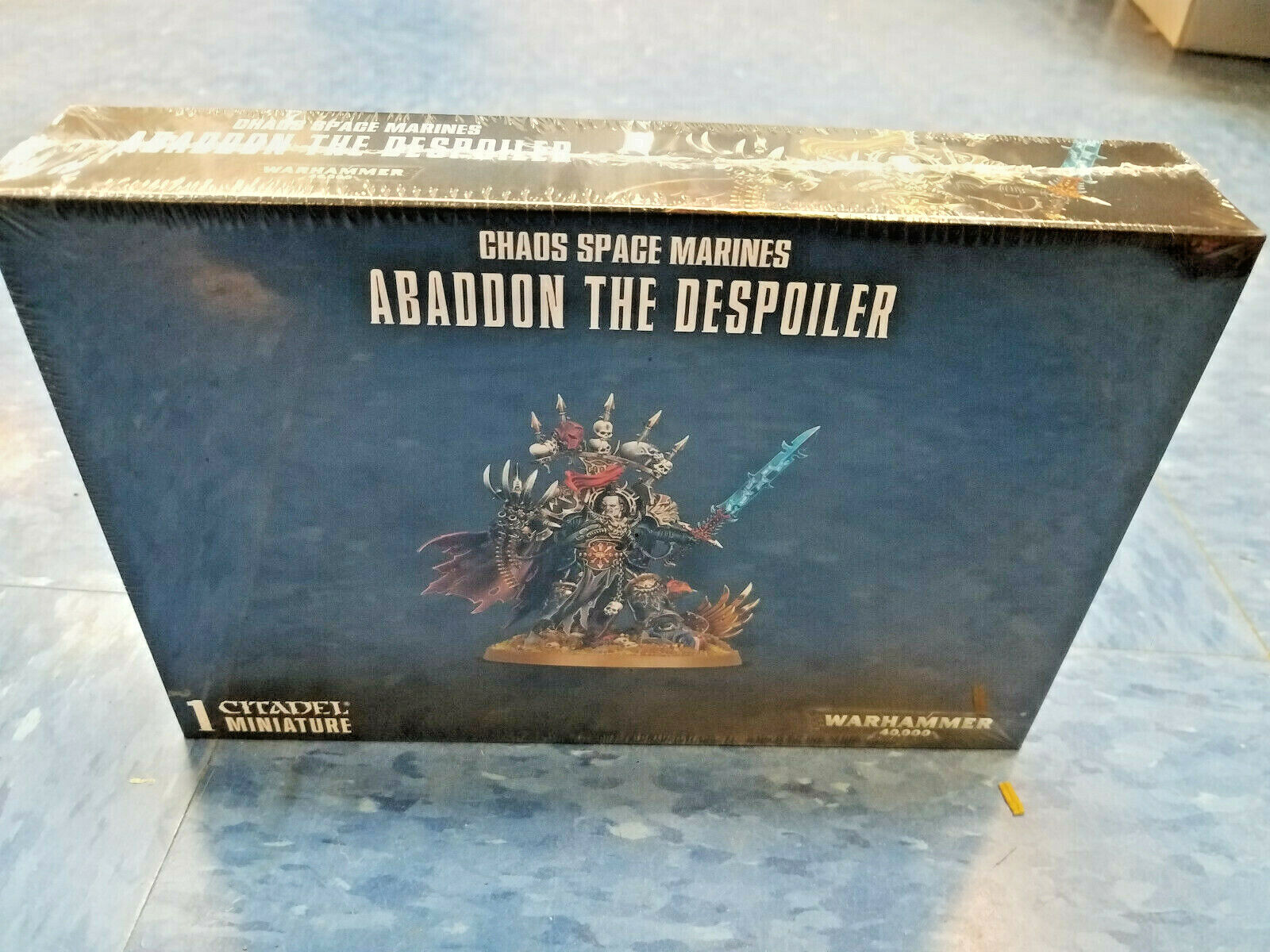 Abaddon the Despoiler Chaos Space Marines Warhammer 40k 40,000 Games Workhop