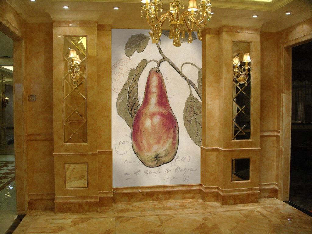 3D Sweet fruit 1 WallPaper Murals Wall Print Decal Wall Deco AJ WALLPAPER