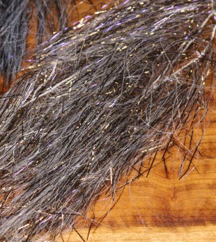 Senyo´s FRECKLED Predator Wrap Hareline USA UV Speckled #1 GOLD /& #2 SILVER