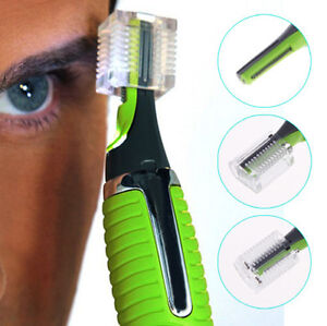 men 39 s nose ear neck face hair mustache beard trimmer shaver clipper grooming kit ebay. Black Bedroom Furniture Sets. Home Design Ideas