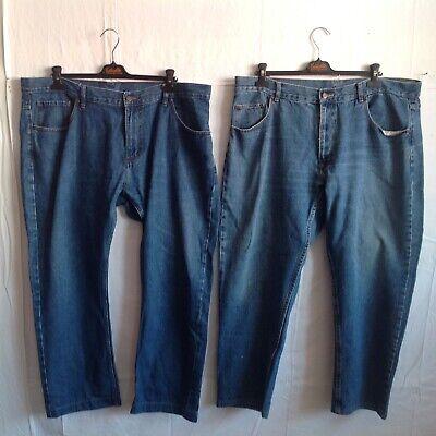 Diplomatico Lot De 2 Pantalons Jeans _ Grande Taille _ T.54 (pj 01/05/6 )