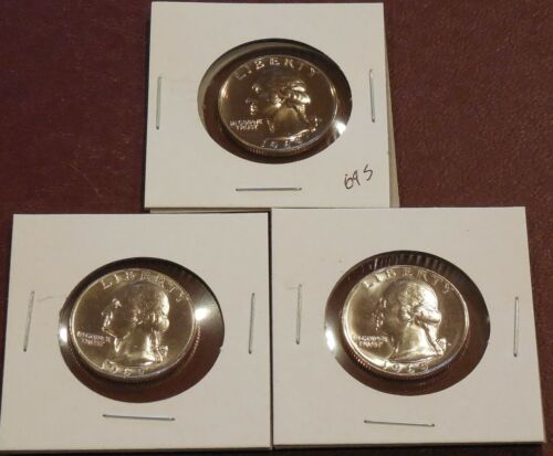 1969 P S D WASHINGTON Quarters * Uncirculated and Proof