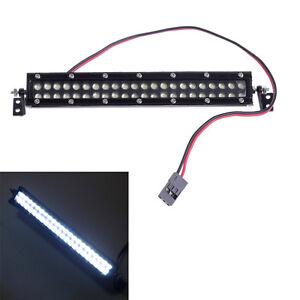 Echelle-1-10-RC-voiture-Crawler-Accessories-Super-Bright-toit-DEL-Light-Bar-44-DEL-Q