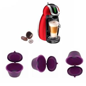 1-2-5pcs-Refillable-Reusable-Coffee-Capsules-Pods-For-DOLCE-GUSTO-Machine-Brown
