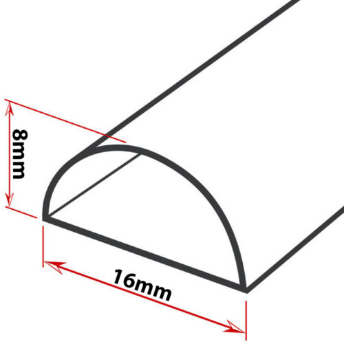 2m AV//TV Wall 2x 1m - 16x8mm Magnolia Speaker Cable Trunking//Conduit Cover