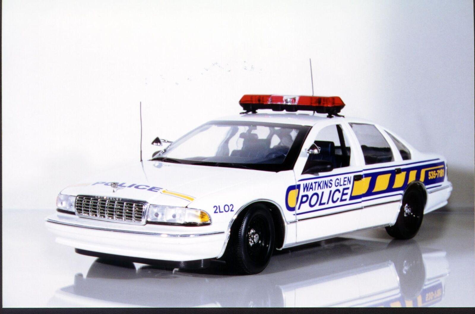 UT modelos Chevy Caprice Watkins Glen policía