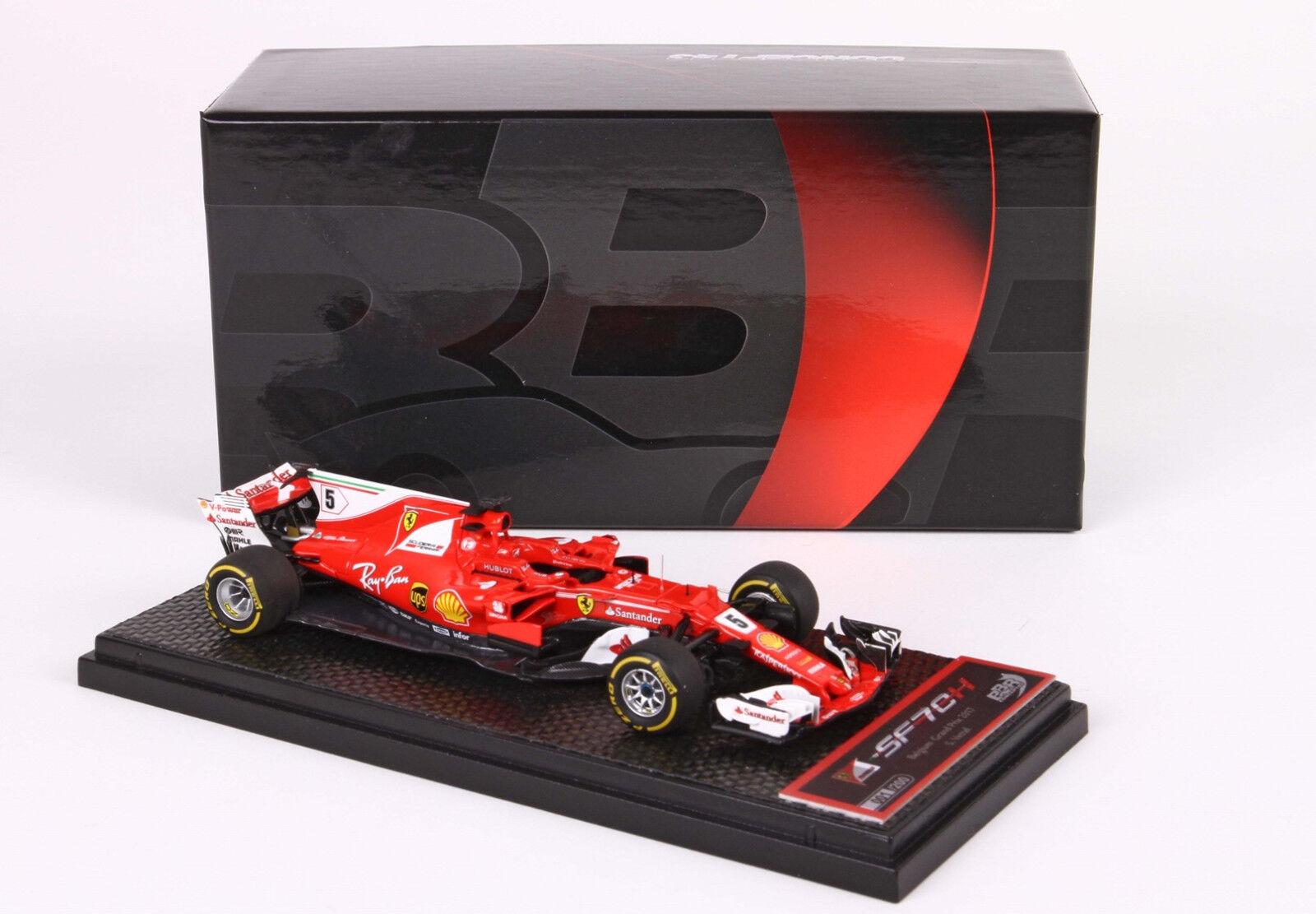 Ferrari SF70-H GP Belgio SPA Francorchamps 2017 S. Vettel 1 43 BBRC206A BBR