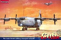 """Antonov An-12BK NATO code """"Cub""""    1/72 by RODEN  # 042"""