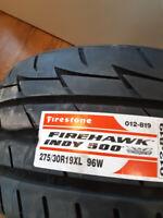 "(1) ""NEW"" 275-30-19 Firestone Firehawk Indy 500 London Ontario Preview"