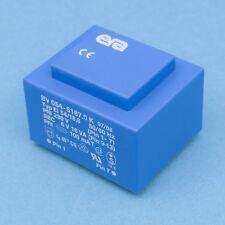 1x Print Trafo 230V 50//60Hz 2x18V 1,6VA Typ EI38//13,6 BV038-5222.0
