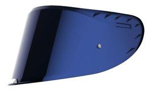 LS2 Visier für FF327 Challenger in blau verspiegelt mit Pinlock-Vorbereitung