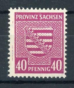 SBZ-Provinz Sachsen MiNr. 84 X a postfrisch MNH geprüft (G881