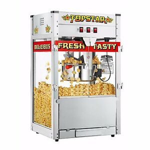 Commercial Bar Movie Theater Vintage Style Red Hot Popcorn Popper Machine Maker Ebay