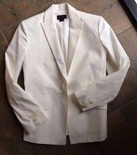Theory Ivory Jacket Blazer 2 XS Mint (Worn Once)