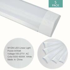 5Pack 4FT LED Garage Shop Lights LED Wraparound Light Fixture 44W 5500K Ceiling